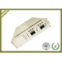 Two SFP + Ports Optical Media Converter Support In - Band Management