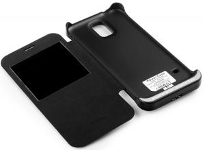 China Extended Samsung Battery Case for Samsung Galaxy S5 , 3800mAh Lipo Battery on sale