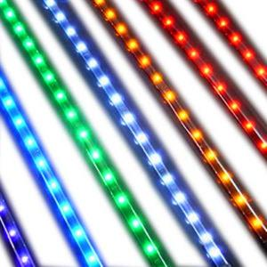 China 120pc / M 3528 SMD IP68 outdoor RGB LED Strip Lights on sale