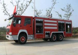 China Compact Structure Emergency Fire Engine Vehicles / Firefighter Trucks on sale