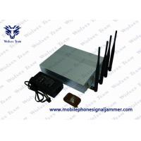 Mobile Phone Remote Control Jammer 10m - 40m Shielding Radius 11W Power