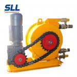 Industry Electric Peristaltic Mortar Pump Acid Resistant For Chemical Slurry