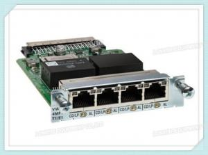 China Cisco VWIC3-4MFT-T1/E1 Network Module Voice / WAN Interface Card For ISR Router on sale