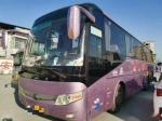 Used Yutong Buses for Sales Mode ZK5127 51 Seats Double Doors Big Conpartment Rear Engine Euro III Good Condition