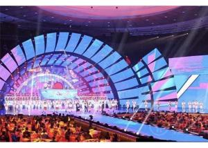 China P5.95 Outdoor Rental LED Display, High Brightness Full Color LED Video Wall Advertising on sale
