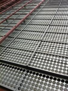 China custom Architectural Perforated Metal panels Screen With Plum Hole 5mm on sale