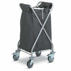 China Folding Laundry Hotel Luggage Dolly / OEM Chrome Hotel Luggage Carrier on sale