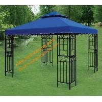 China Outdoor Leisure 3mx3m Powder coated Steel Pavilion Canopy  Patio Gazebo on sale