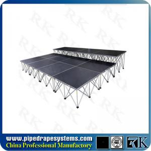 China folding smart stage platform for concert wedding event on sale