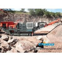 China Portable  Mobile Rock Crusher Energy Saving Simple Structure For Aggregate Making on sale