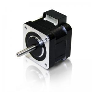 China 6V / 12V Permanent Magnet Stepper Motor , 0.9 Degree Stepper Motor Shaft OD 5mm on sale