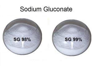 China 98% / 99% High Purity Gluconic Acid Sodium for Concrete / Textile / Food Industry White Color on sale
