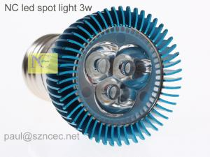 China E27 3w led spotlight on sale