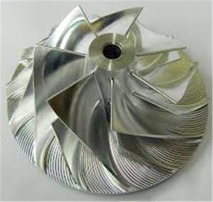 China Marine Ship Turbo Compressor Wheel , Holset Compressor Wheel Forward Rotation on sale