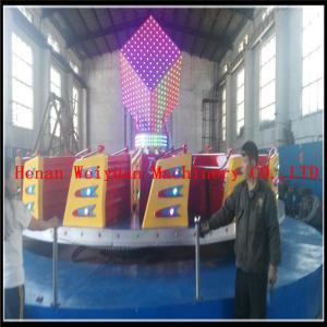 China Popular Colorful  Kids Amusement Park Games Equipment Ballerina Rides  Fiberglass 24seats Kiddie Hully Gully on sale