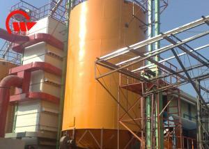 China Corrugated Hot Dip Steel Grain Silo Galvanized Steel Material Temperature Moisture on sale