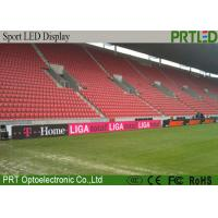 Waterproof P10 Stadium LED Screens For Football / Basketball Perimeter