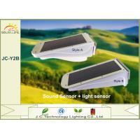 3 Watt IP65 Sound Sensor Ultra Bright Solar Garden Lights With 3.7V 4400mah Lithium Battery