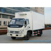 China Right Hand Drive Small 4 ton refrigerated truck FOTON - FORLAND 4x2 on sale