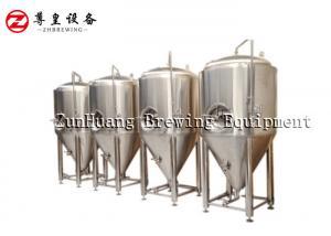 China Polished Conical Fermentation Tank , 10HL - 50HL Stainless Steel Fermentation Tank on sale