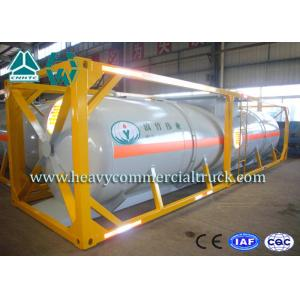 China High Strength Container Transport Triple Axle Trailer With Emergency Valve on sale