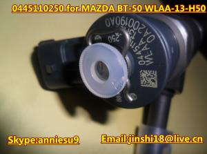 China Bosch Common Rail Injector 0445110250 for MAZDA BT-50 WLAA-13-H50 on sale