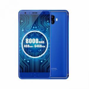 China 4G Cell Phone Smart 4GB 64GB MT6750T 8000mAh 13MP Camera OTG Oukitel K8000 on sale