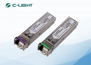 China 2.5G SFP Bidirectional Optical Transceiver 80km SMF WDM SDH STM-16 on sale