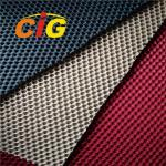Colorful  Home Textile Fabric 100% Polyester Sandwich Mesh Fabric