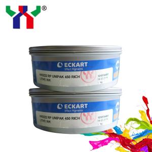 China eckart 9222 gold and silver offset printing ink on sale