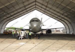 China Portable Rainproof Aircraft Hangar Tent on sale