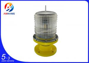China AH-LS/P Low-intensity Solar-Powered Aviation Obstruction Light on sale