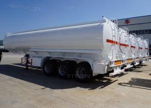 China TITAN stainless steel fuel/oil tank semi trailer with 40,000 Liter capacity for sale on sale