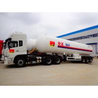 25 Tons LPG Gas Tanker Truck Trailer 25MT With Dongfeng Tractor Head