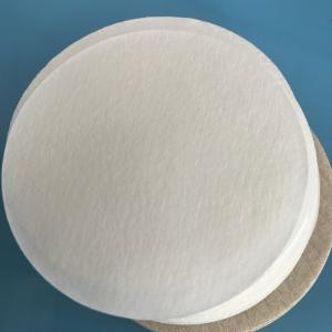 China Heat Sealing Coffee Filter Paper Disposable Round No. 6 Food Grade White on sale