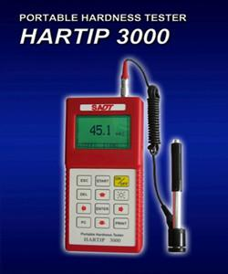 China High Accuracy Portable metal Hardness Tester Hartip 3000 Menu Operation HRC / HB Hardness Scale on sale