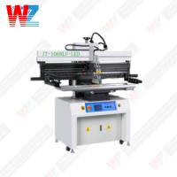 China SMT 100W 6kg/Cm Semi Automatic Screen Printing Machine on sale