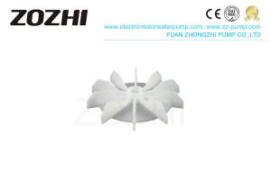 China Y2 Series PP Plastic Cooling Motor Fan Blade For 100# Frame Electric Motor on sale