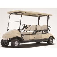 Luxury Ez Go 4 Passenger Golf Cart , 4 Seater Electric Car With Brake System