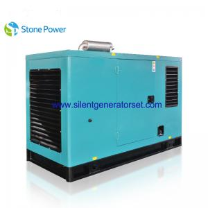 China 40kw 50 Kva Silent Diesel Generator Set With Cummins 4 Cylinder Engine on sale