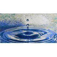 Waterdrop Ruffle Marble Mosaic Outdoor Wall Art Handmade Craft Mirror Patterned Mosaic Tiles