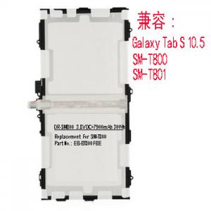 China Samsung Galaxy Tab S 10.5 SM-T800 SM-T801 Battery EB-BT800FBE wholesale