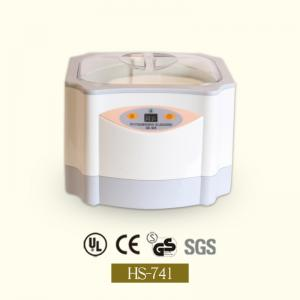 China ETL approval powerful top grade 1.4L digital ultrasonic jewelry cleaner HS-741 on sale