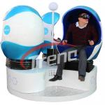 China High End HD 1080P Dynamic Virtual Reality Machine With 9D Movie Experience wholesale