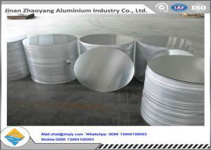 China Thickness 0.4 - 5.0mm Aluminium Sheet Circle Powder Coated 5052 / 6061 / 6063 on sale