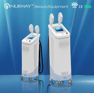 China 3 systems in one Super hair removal &skin rejuvenation SHR / IPL / E-light big spot size 16*50mm on sale