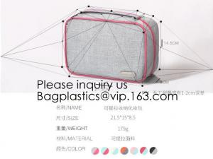 China Assorted Size Cosmetics See Through Mesh Make Up Cosmetic Bag,Eco Friendly Cosmetic Bag Manufacturers Frosted EVA Cosmet on sale
