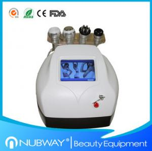 China Hottest RF+ Vacuum+Ultrasonic Cavitation Slimming Machine For Body Slimming Skin Lifting on sale