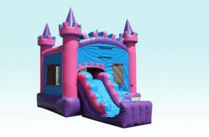 China Sweetheart Castle Combo With Single Lane Dry Junior Slide on sale