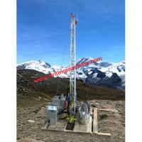 Hydraulic Drill Rig Machine , mobile rig boring machine for geological exploration